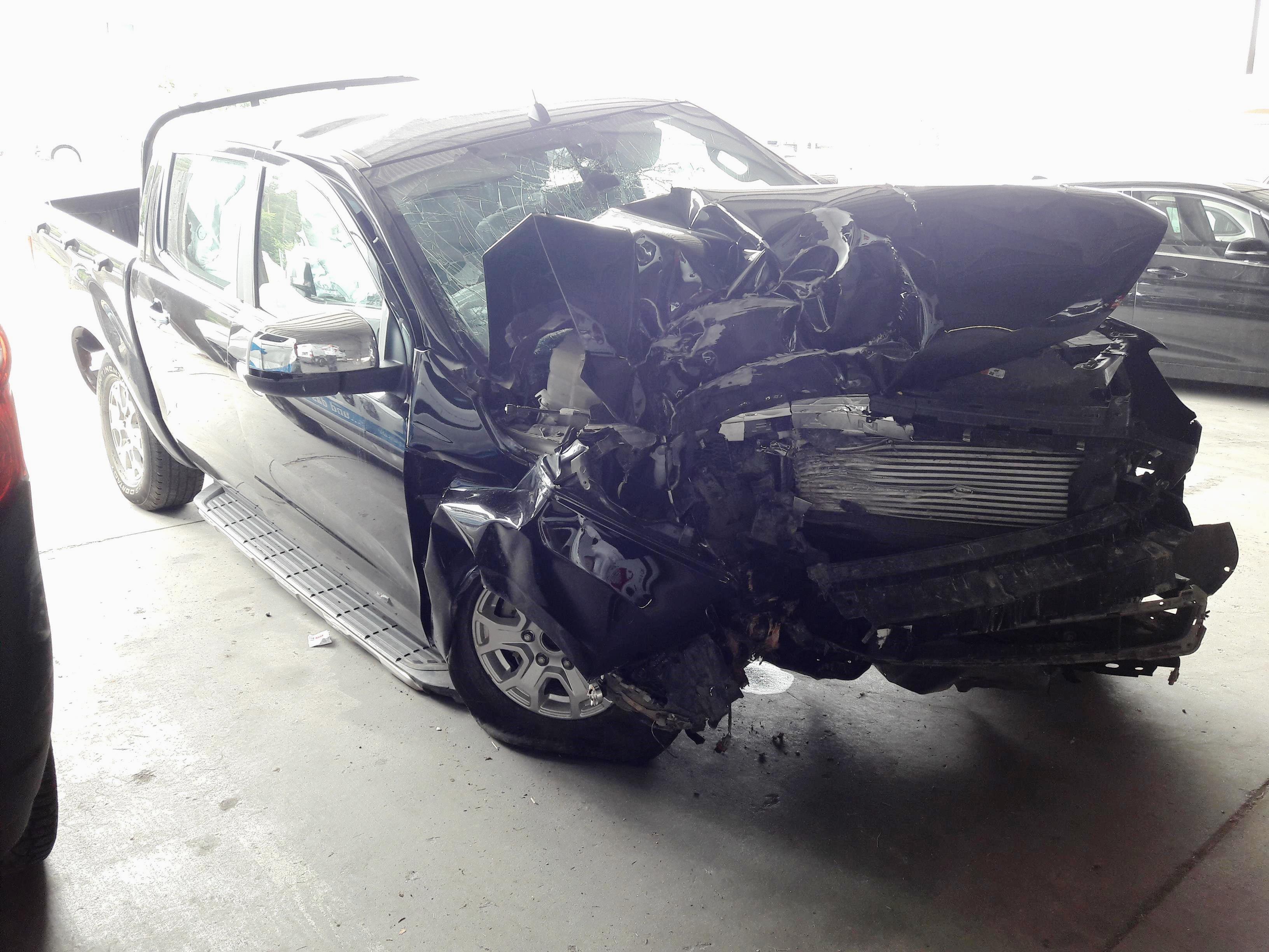 Ford Ranger после аварии
